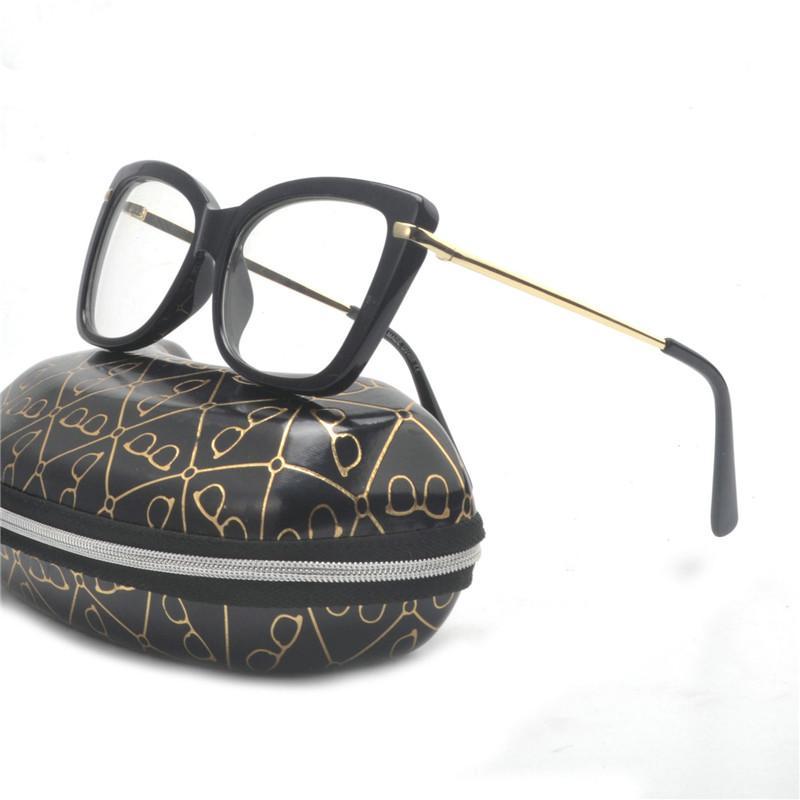 cebd37a4a2e Fashion Cat Eye Reading Eyeglasses Optical Glasses Frames 2018 New ...