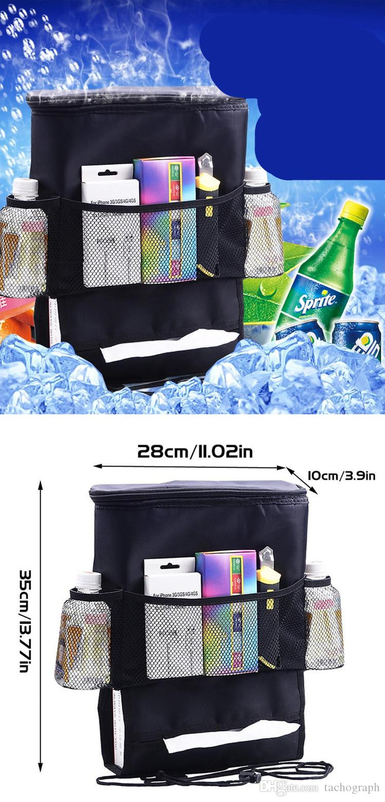 New car ice pack chair backpack bag storage storage car multifunctional Oxford cloth bag