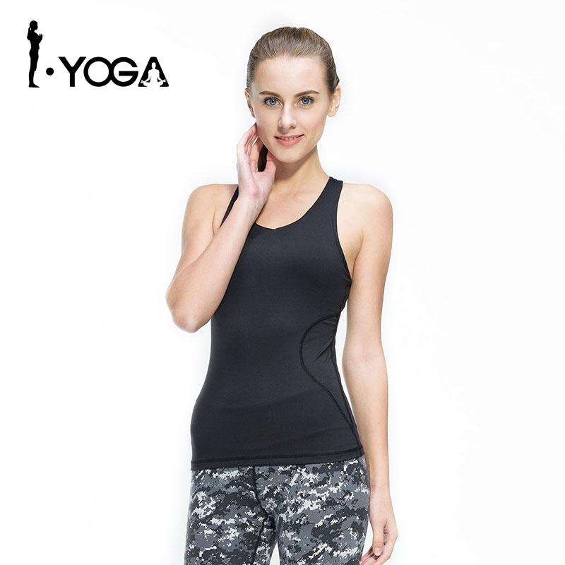 22bf2393f1979 2019 Fitness Women Sexy Tight Yoga Top Gym Sports Vest Sleeveless Shirts  Tank Tops Running Clothes Female T Shirt Mesh Sportswear From Johiny