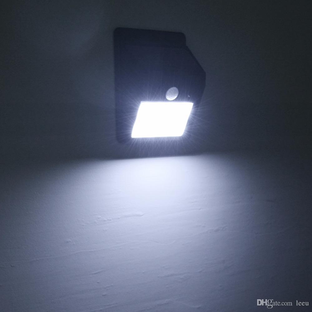 Solar Power LED-Solarleuchte Außenwand LED-Solarleuchte mit PIR Bewegungs-Sensor-Nachtlampen Security Straße Yard Pfad Gartenlampe