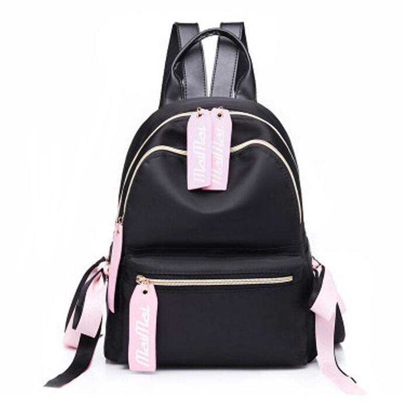 99e3f56ab0 OZUKO Women Backpack 2018 New Fashion Small Nylon Oxford School Bags For  Teenagers Small Travel Women Backpack Girl Ribbon Cheap Backpacks Rolling  Backpack ...