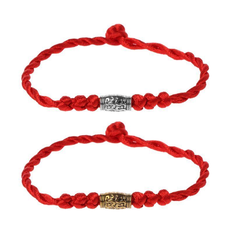 2f82d173866b Compre Hecho A Mano Chino Feng Shui Lucky Kabbalah Populares Pulseras De Hilo  Rojo Joyería Tibetana Exquisita Pulsera Exquisita A  33.47 Del Junemay ...