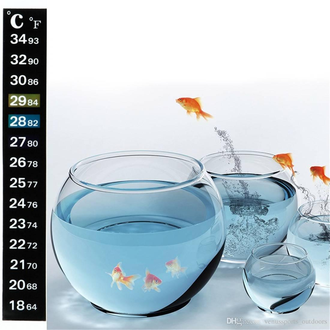 accessori serbatoio di pesca Termometro Carboy Fermenter Homebrew Serbatoio birra Temperatura Adesivo Adesivo Scala appiccicosa Acquario Pesce