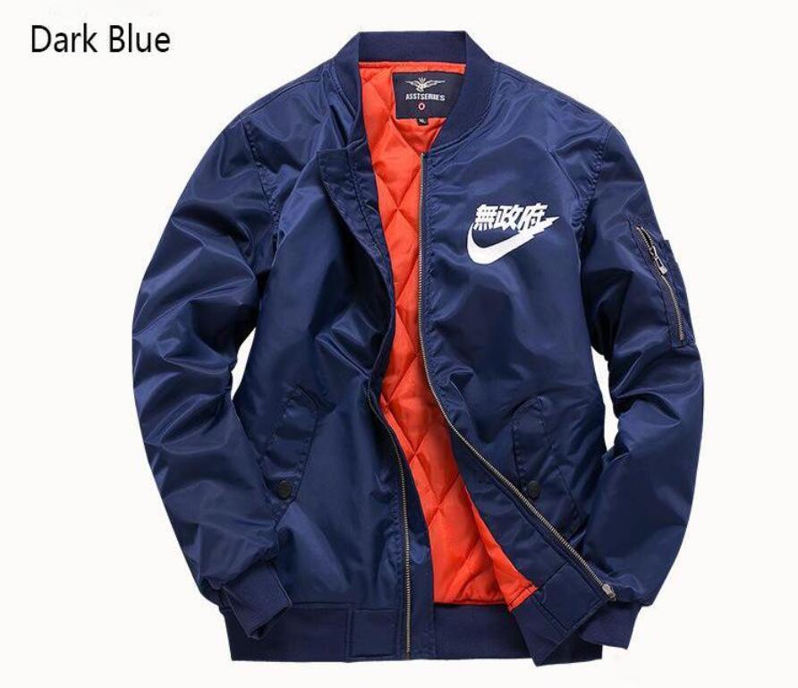 185511017a98 Casual Designer Jackets Male Clothing Polit Jackets Army Green Dark Blue  Black Size S 6XL Zipper Nylon Mens Jackets Fashion Windbreaker Nice Mens  Coats Coat ...