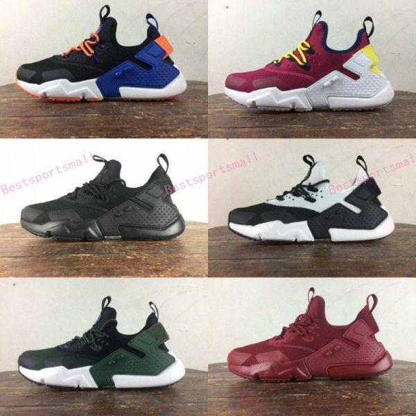 low priced 65b7c 4387e Air Huarache Drift 2018 Newest Huaraches Ultra Breathe Hurache 6 Running  Shoes Men Women Huraches Sports Sneakers Size 36 46 Running Shoes Women  Running ...