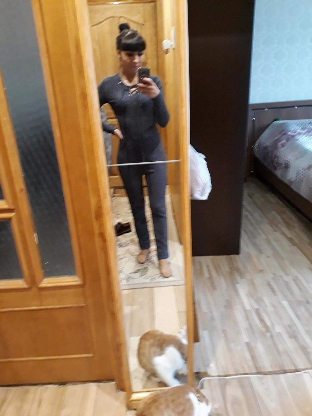 Сексуальные женщины комбинезон 2018 крест повязки V-образным вырезом трикотажные Осень Зима серый свитер тонкий Bodycon комбинезон ползунки теплые свитера топ