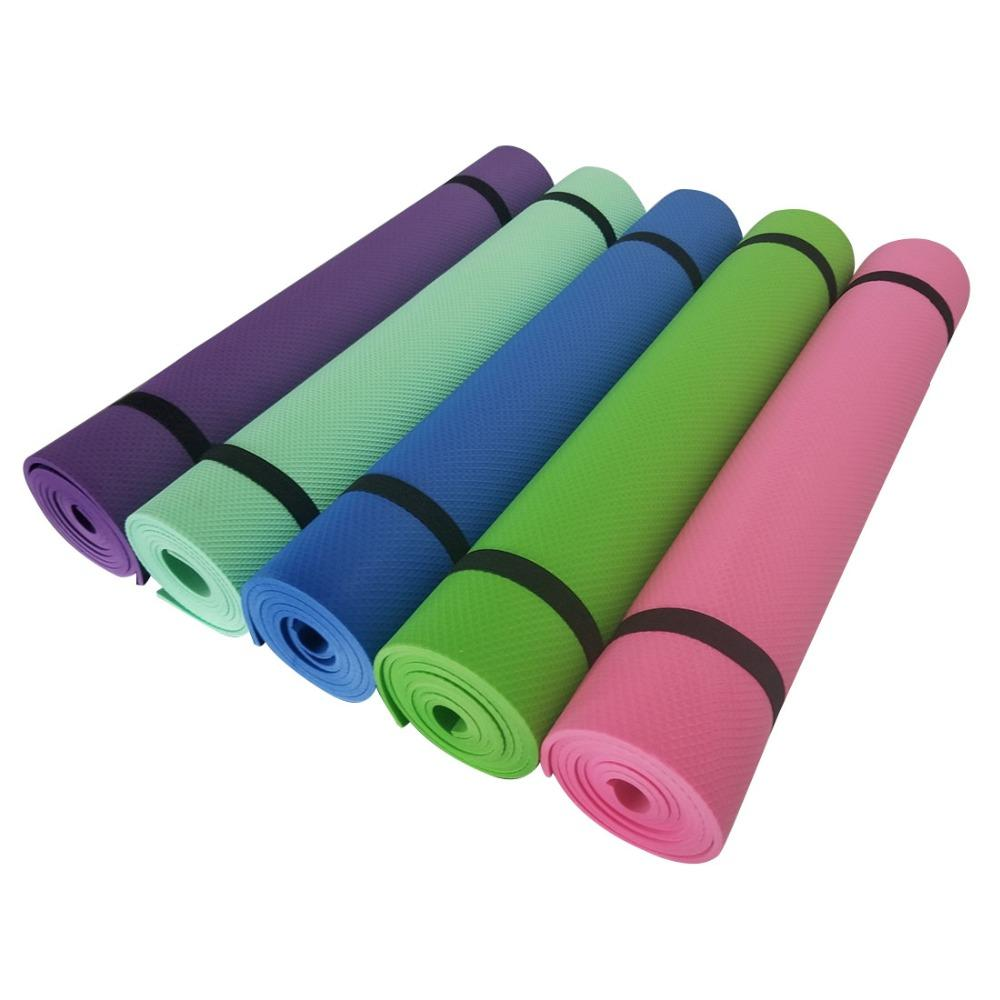 83x61x5mm Thick Non Slip Yoga Mat EVA Foldable Fitness Gymnasium Non Skid  Floor Exercise Pad Play Hot Pilates Mat UK 2019 From Jaokui 7f618f3d9d80