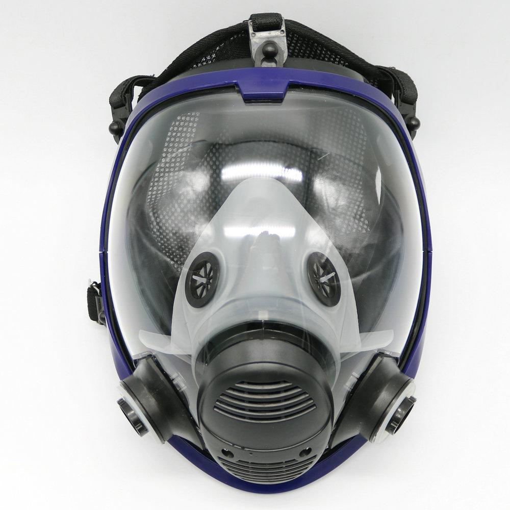 7 Piece Full Face Mask For 6800 Gas Mask Full Face Facepiece Respirator For Painting Spraying Free Shipping Party Masks