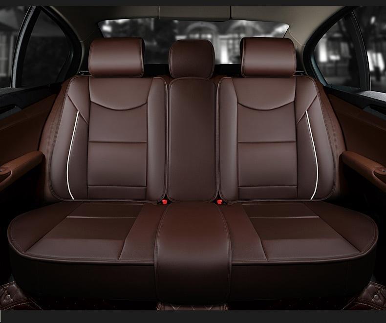 Universal Car Accessori auto Interni coperture sede berlina full Circondato design durevole PU sedili in pelle copre SUV