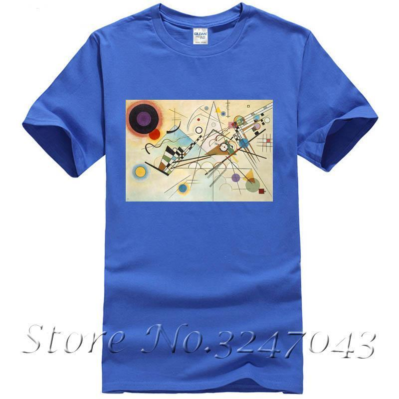 Homme Kandinsky Shirt Shirt Kandinsky Homme T T ARL435qj