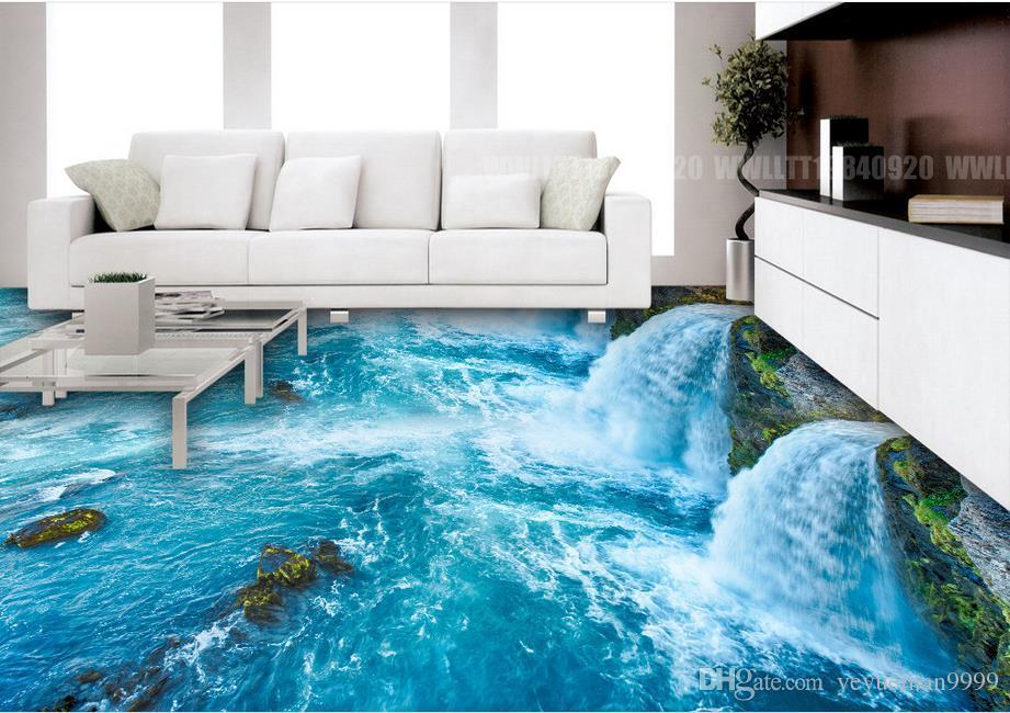 3d Boden Tapete Hd Foto Tapeten Ozean Welt Für Wohnzimmer Kinderzimmer Boden Selbstklebende Pvc Wasserdicht Aufkleber