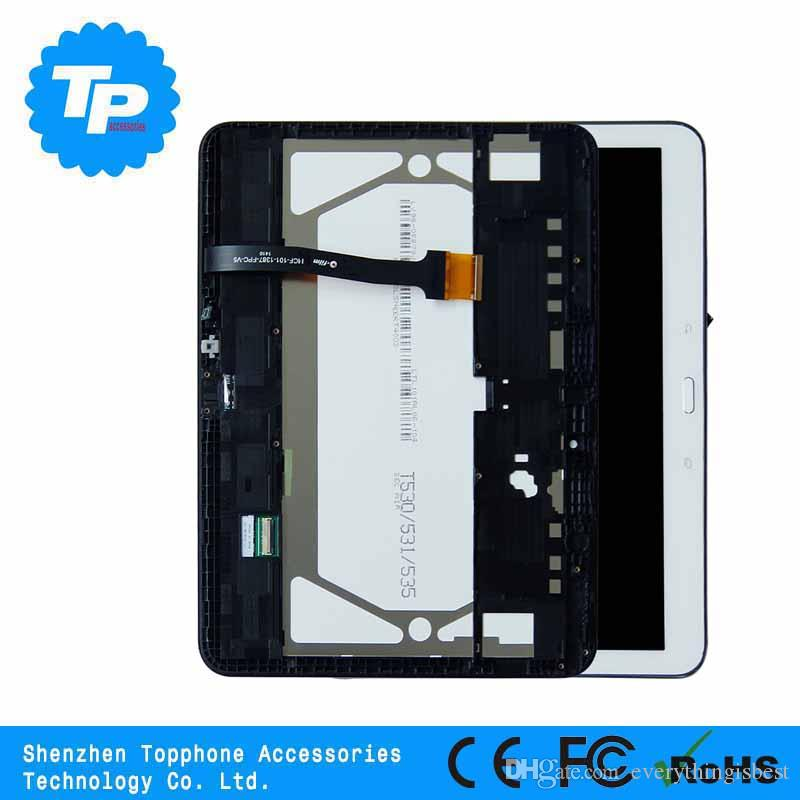 Wholesale Spare Parts Replacing Original LCD Screen For Samsung Galaxy Tab 4 10.1 T530 LCD Complete