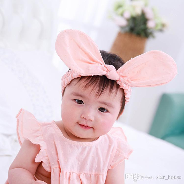 Rabbit Ear Cute Newborn Baby Kids Headband Babies Headbands Bunny Rabbit  Ear Hairband Hair Clip Band Accessories Women Hair Bands Hair Bands Women  From ... bd1150877a9