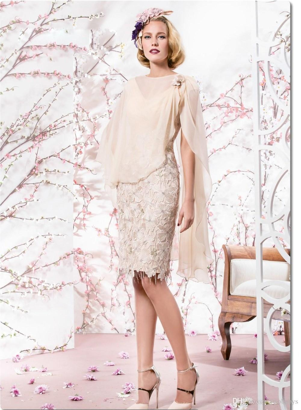 Madre de la novia vestidos cortos