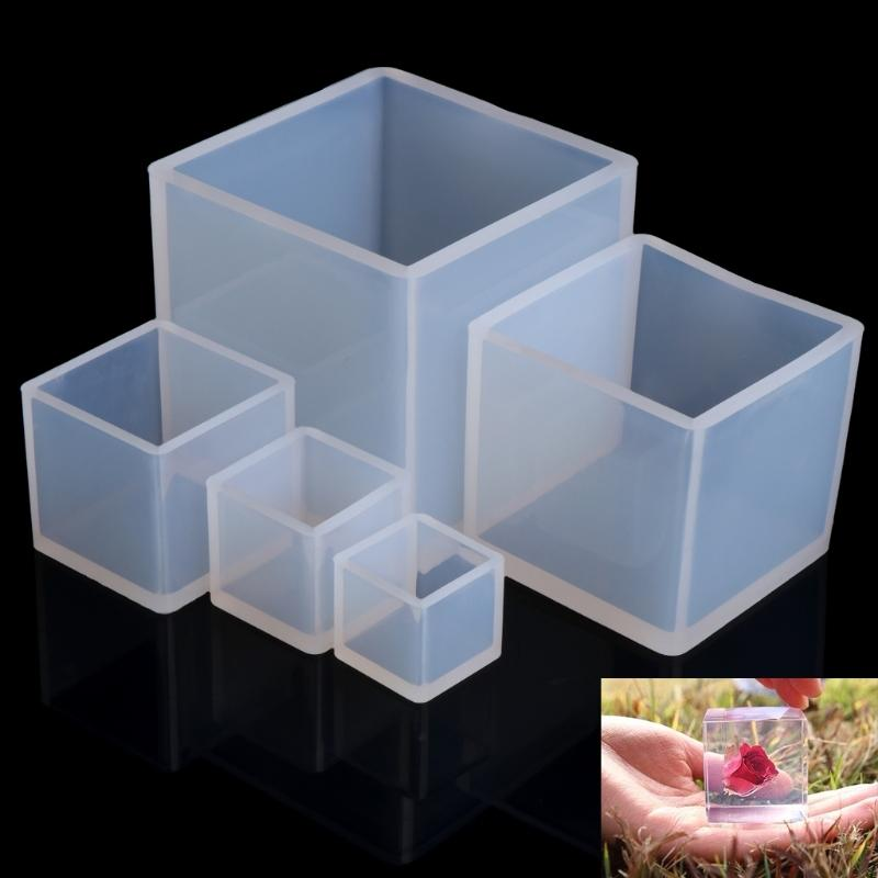 5 Pieces/Lots Assorted Shapes DIY Silicone Pendant Jewelry Molds Making  Cube Resin Casting Craft Tool Wholesale