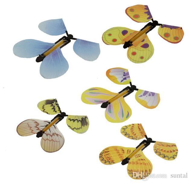 Criativo Recém magia borboleta voando borboleta mudança com mãos vazias liberdade borboleta magia adereços truques de mágica