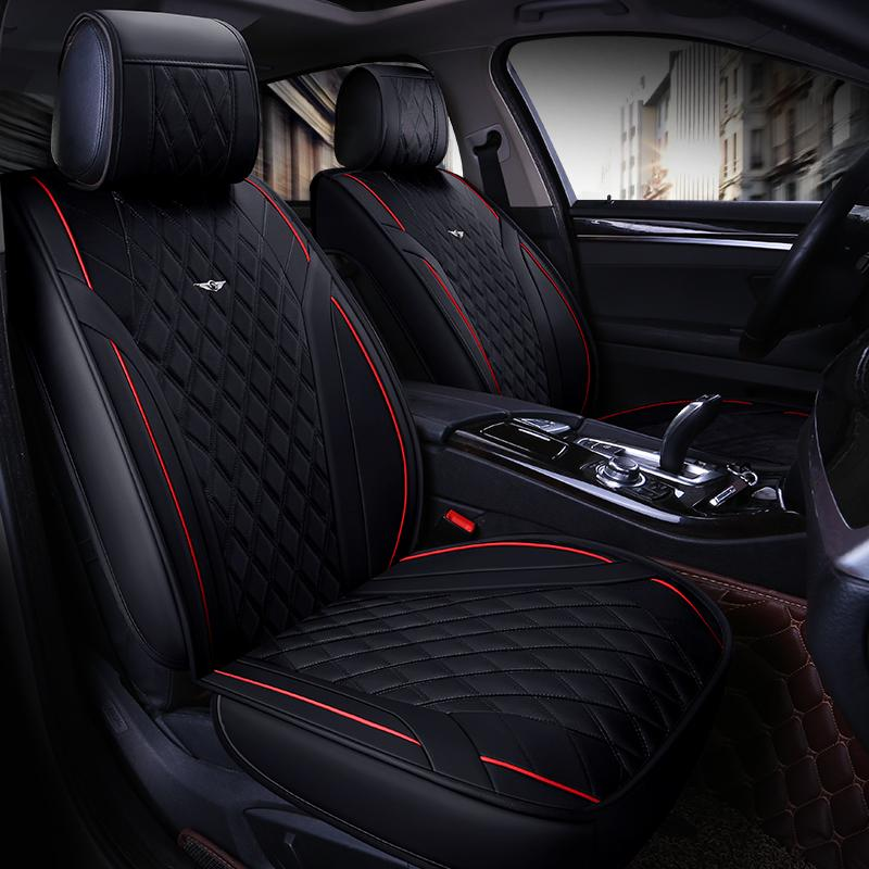 car seat cover vehicle chair leather case accessories for kizashi liana s-cross swift sx4 mitsubishi space star asx