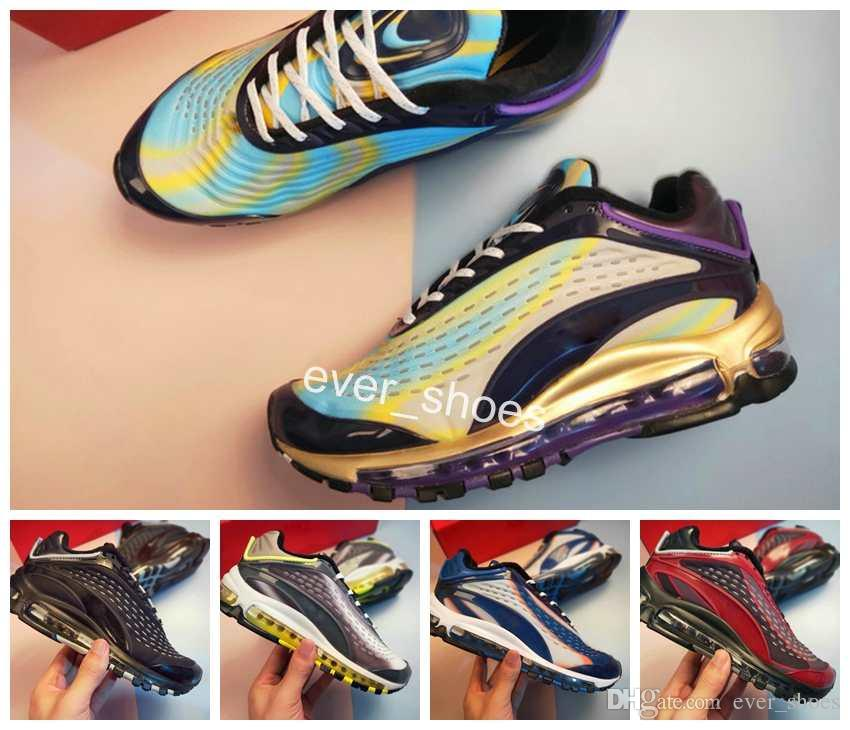 bd09b4ab32385e 2018 New 99 Deluxe Skepta Sneakers Women Men Air Rainbow 3M AQ1272-400  Chaussures Running Sports Trainer Maxes Designer Shoes 36-45 Running Shoes  SKEPTA ...