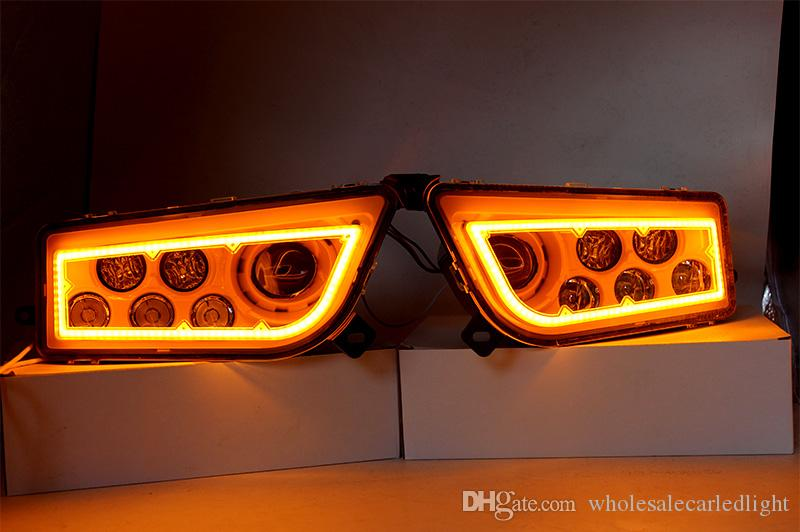 ATV Polaris Genel 1000 Led Headlighs, Polaris RZR XP1000 / Turbo Tam Halo Angel Eyes LED Yedek Far Kiti