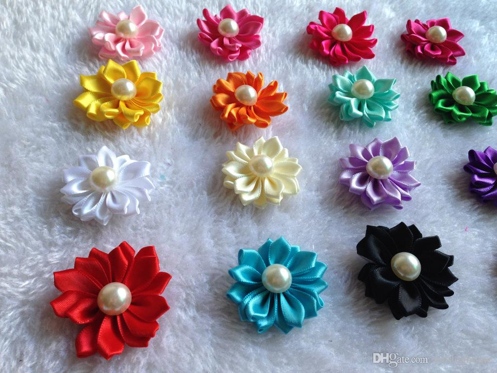 Dog Hair Bows Petal Flowers Bows Pet Dog Hair Grooming Bows Hair Accessories Product For Dog