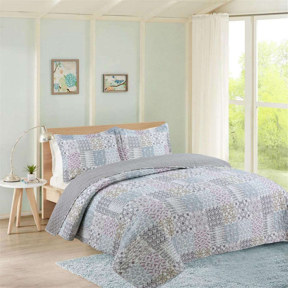 Summer 100 Cotton Patchwork Quilt Twin Size Student Quilts Sofa
