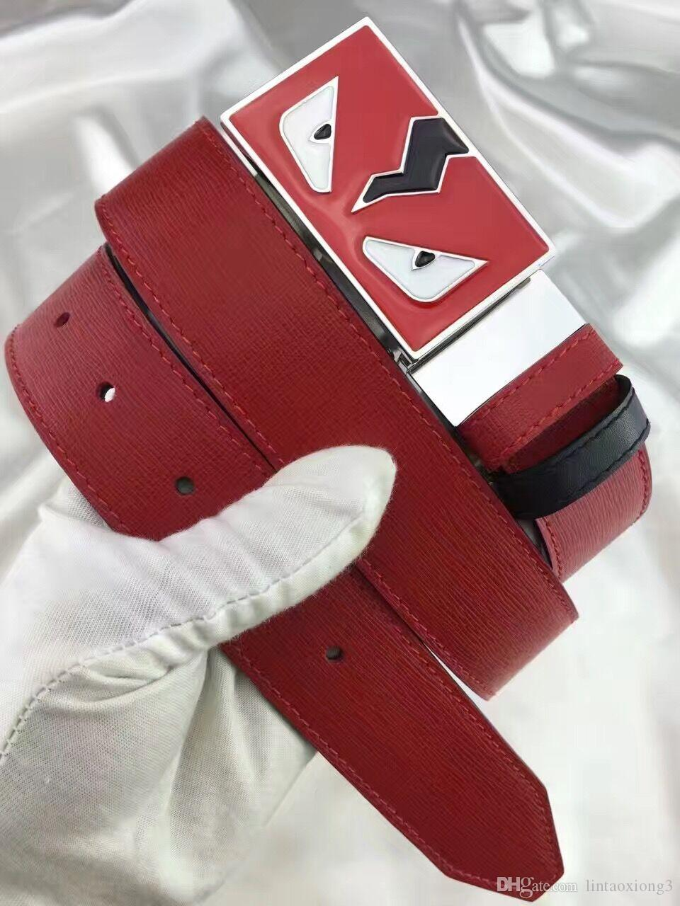 2a71b4d90640e Yellow Blue Red Cat Buckle Designer Belts With Box Men High Quality Luxury  Leather Belt Men Women Buckle Men Belts Luxury Belt Size Chart Batman Belt  From ...