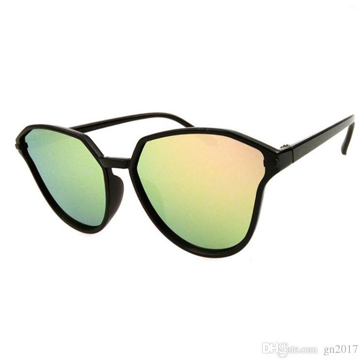adc2436a6c Fashion Women Personality Sunglasses Cat Eye Sun Glasses Color Film ...