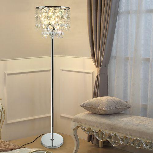 Grosshandel Luxus Moderne Konigliche Dimmbare Stehlampen Kristalle