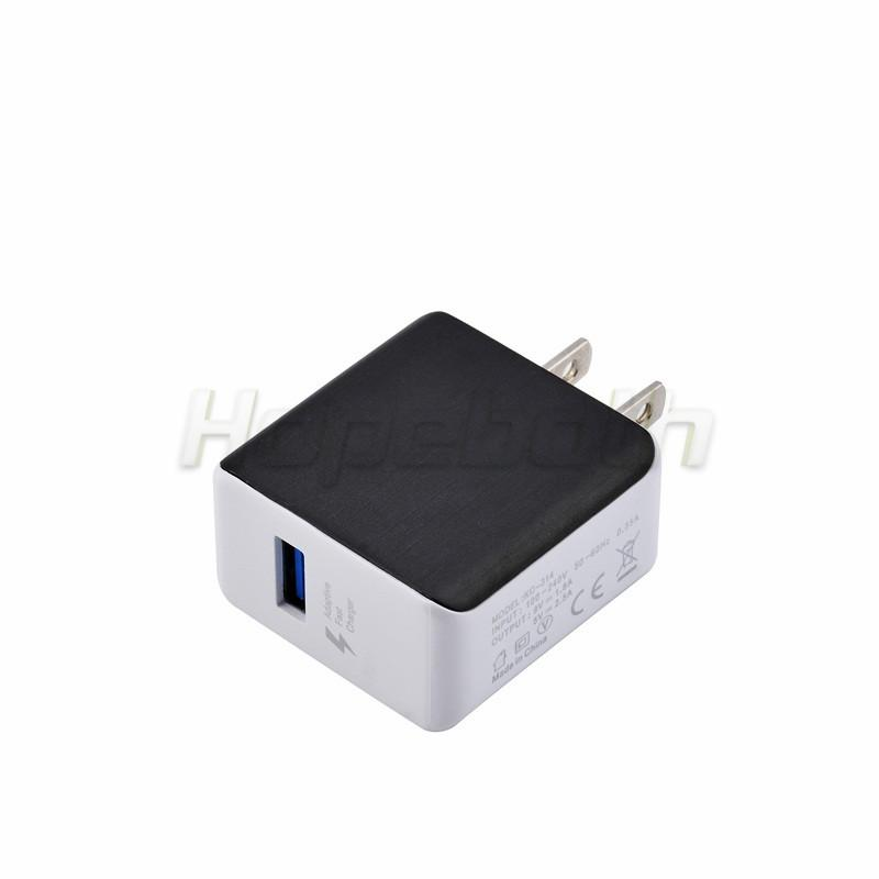 Quick Us Ac home wall charger power adapter 5V 2.5A 9V 1.8A Qc 2.0 Adaptor for iphone 5 6 6s 7 plus for samsung s6 s7 s8 note 4 5
