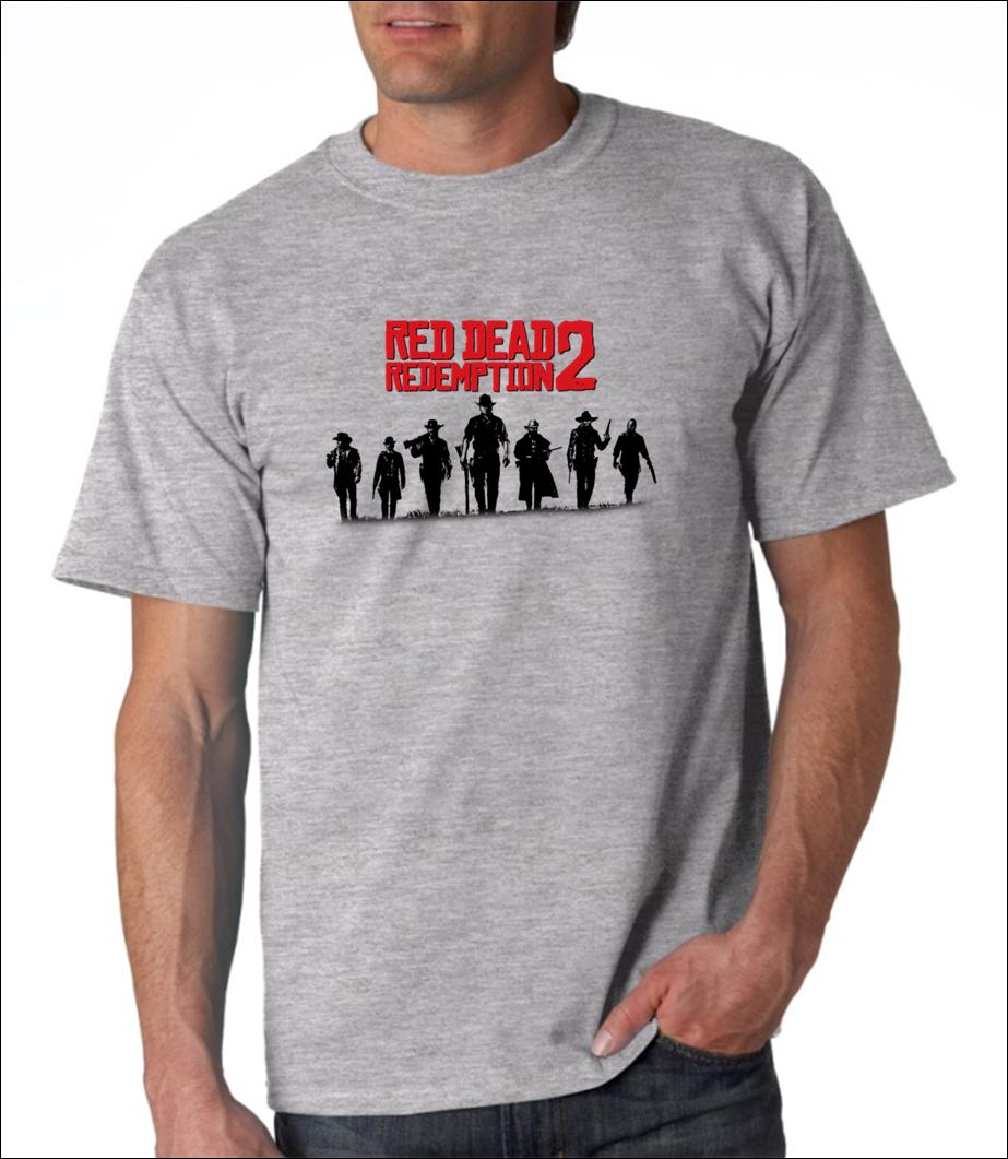 adba9d942b4 Red Dead Redemption 2 T Shirt Gray 100% Cotton Tee Size From S To XL Mens  2018 Fashionable Brand Cheap Tee T Tee Shirts T Shirt Shirts From  Funnytshirt