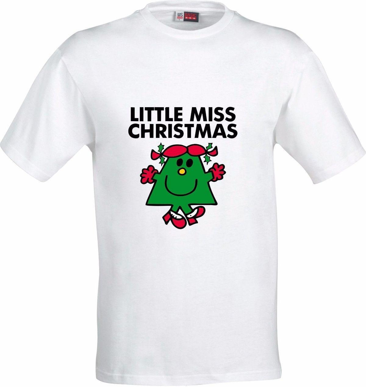 LITTLE MISS CHRISTMAS GIFT FULL COLOR SUBLIMATION T SHIRT Men S Funny  Harajuku T Shirt Top Tee Casual Printed Tee Plus Suze Design Your Own T Shirts  Womens ... 379cfb94a6