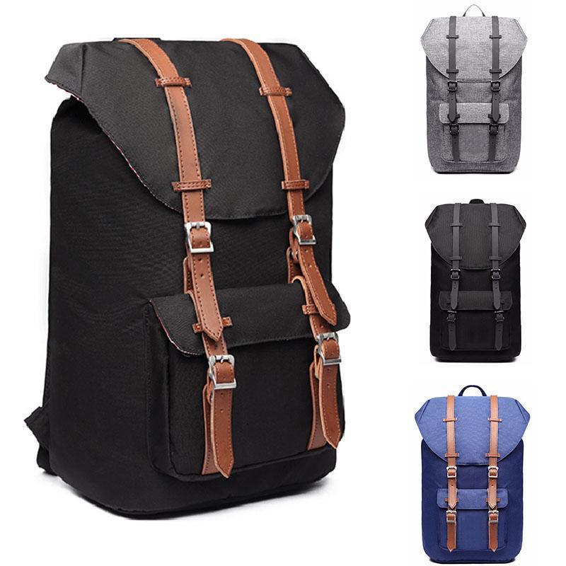 38732caeb6 Acquista Zaini Da Viaggio Casual Zaini Laptop Zaino College Borse Da  College Large Vintage Canvas Daypack Hiking Fishing Women And Men A $55.43  Dal ...