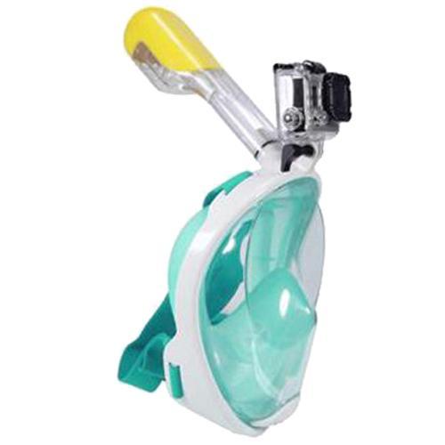 490278da8 Compre Máscaras De Mergulho Autônomo Da Superfície Da Máscara Da Máscara  Cheia Do Mergulho Da Natação Para Gopro L   Xl Tipo Adulto De Sport2017