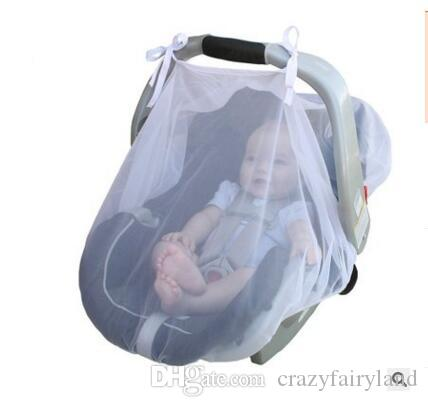 Online Cheap Mesh Canopy Car Seat Accessories Baby Cover For Newborn Carseat Infant Basket Stroller By Popular One