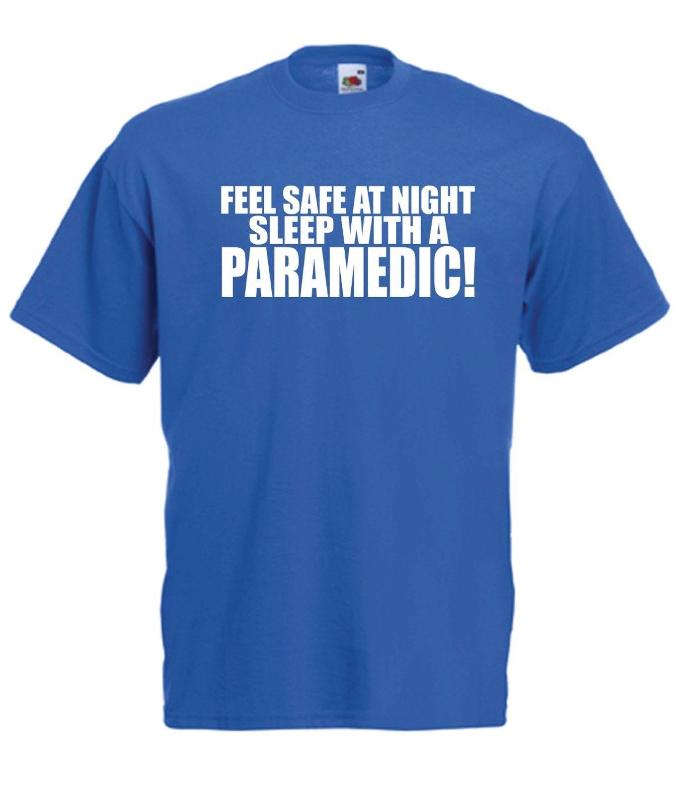 Sleep With Paramedic Funny Ambulance Xmas Birthday Gift Idea Mens