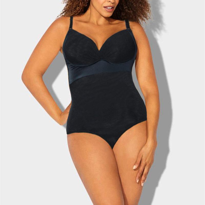 dc52c303fa11b Women Plus Size Body Shaper 2018 New One Piece Bodysuit Shapewear ...