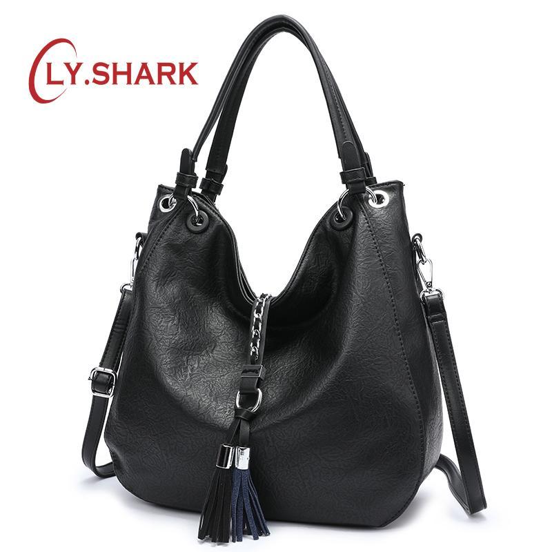 04f68ace0088 SHARK Luxury Handbags Women Bags Designer Bag Ladies PU Leather Women  Handbags Famous Brand Woman Bags 2018 Messenger Bag Men Bags Handbag  Wholesale From ...