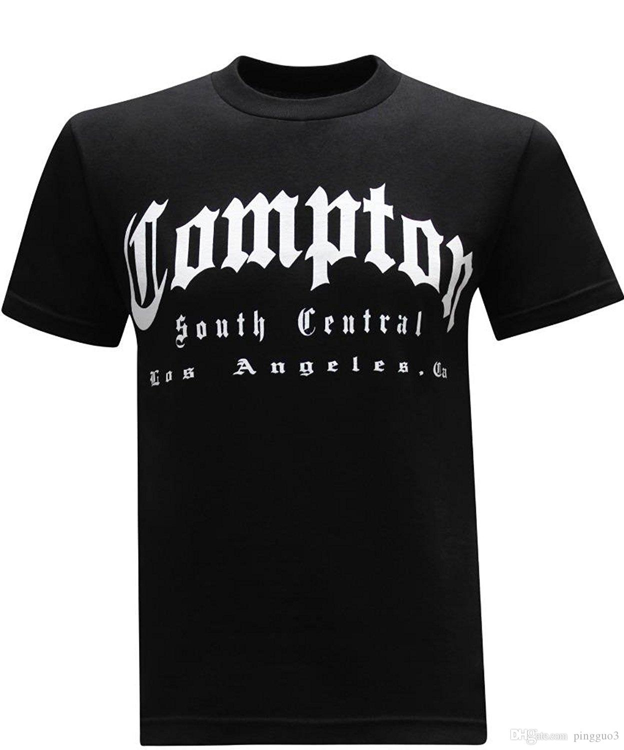 California Republic South Central Compton Mens T Shirt Printed Men