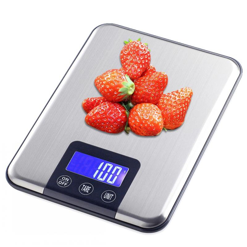 Household Kitchen Scale 15kg 1g Baking Cooking Tools Food Diet Electronic Postal Balance Weigh Lcd Digital Weight Scales