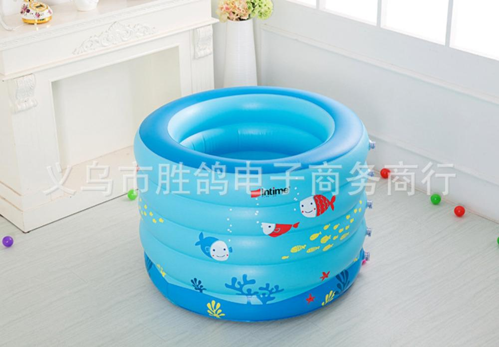 2018 Kiddie Pool Portable Bath Tub Children Inflatable Swimming ...