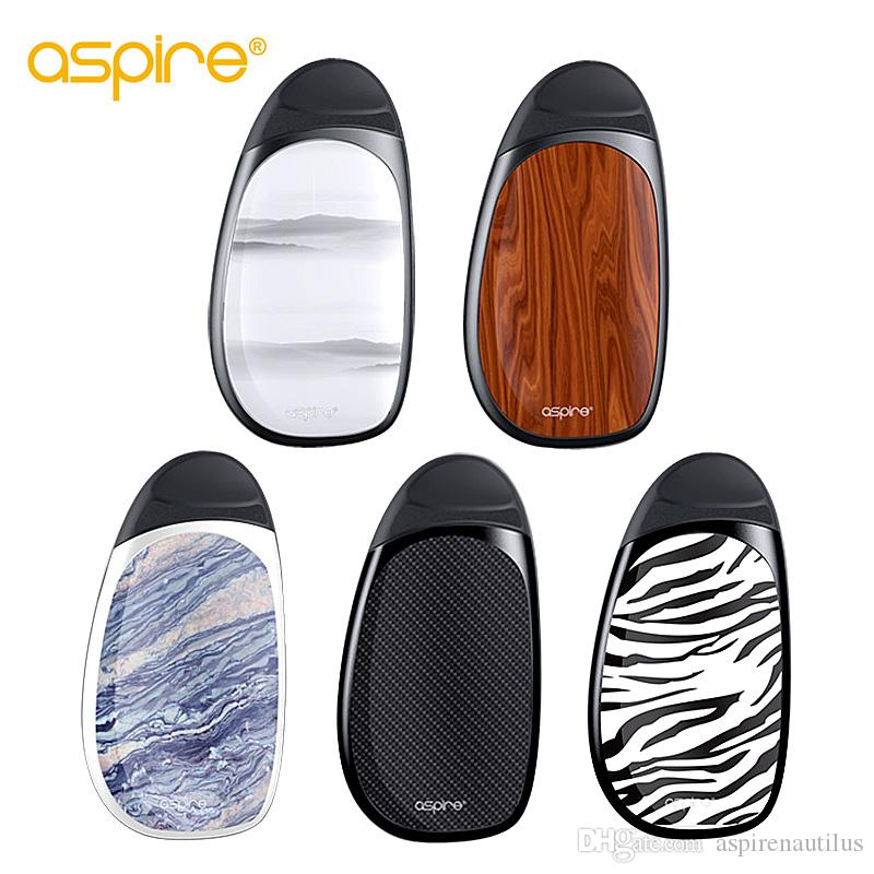 Wholesale Aspire Cobble Kit 700mah for Nic-salts/Ordinary E-liquid with Non-replaceable bvc coil 1.4ohm Pod System E Cig 100% Authentic