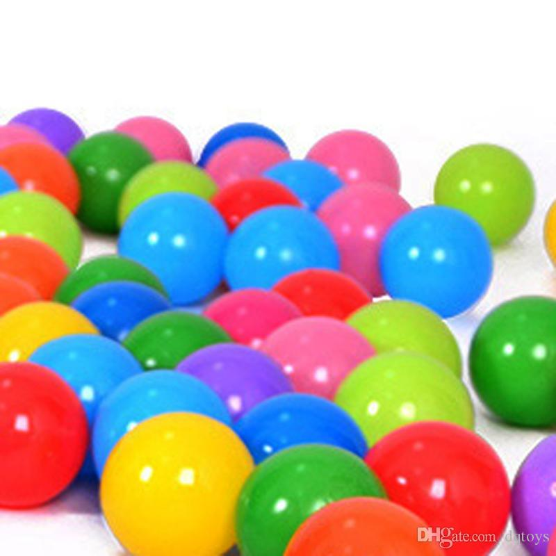 Eco-Friendly Colorful Plastic Ball Toys Soft Ocean Balls for The Pool Baby Swim Pit Toy Stress Air Ball Outdoor Sports