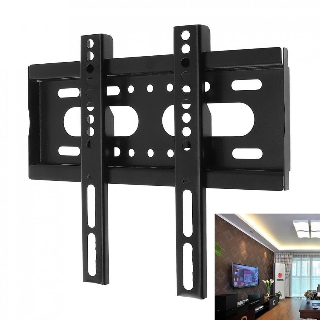 GroBartig Knopfzellen Halterung Universal 25kg Tv Wandhalterung Fixed Flat Panel Tv  Rahmen Für 14 42 Zoll Lcd Led Monitor Flachbildschirm Halterung Halterung  Für ...