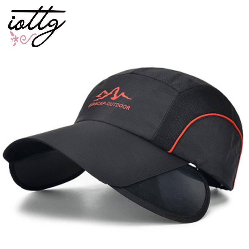 d4c6e135 IOTTG New Fashion Summer Sun Hat Baseball Cap Sports Cap Unisex UV  Protection Outdoor For Men Women Baby Cap Embroidered Hats From Geworth,  $24.19| DHgate.