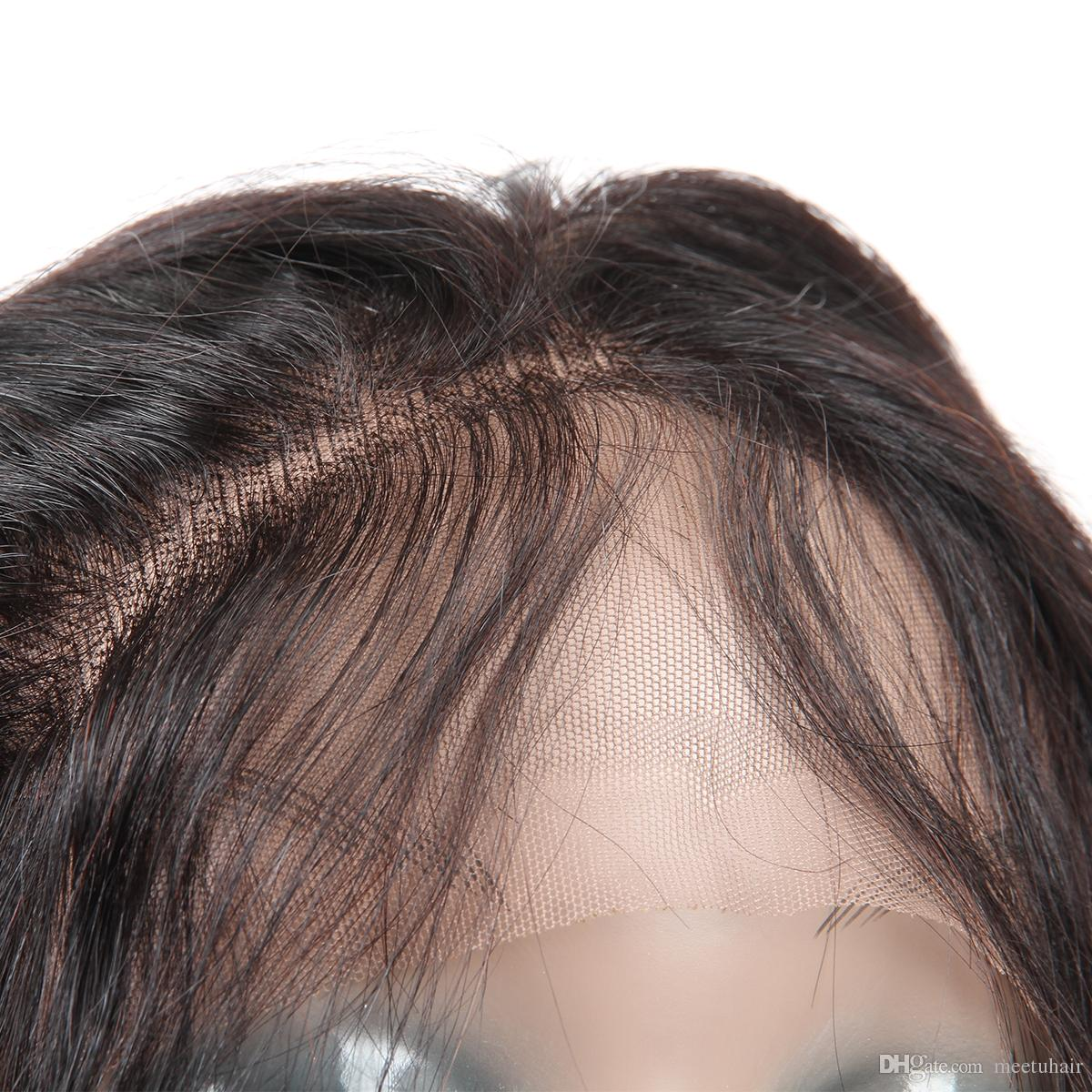 Cheap 8A Straight 360 Lace Frontal 100% Unprocessed Virgin Human Hair Wholesale Price Brazilian Peruvian Malaysian Indian Hair 8-22inch