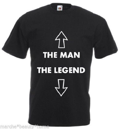 e80c4290 The Man The Legend Funny Men'S T Shirt Black FOTL Slogan S 3XL HUMOUR New  F/Post T Shirt Shirt Awesome T Shirts For Guys From Populartees, $11.01|  DHgate.