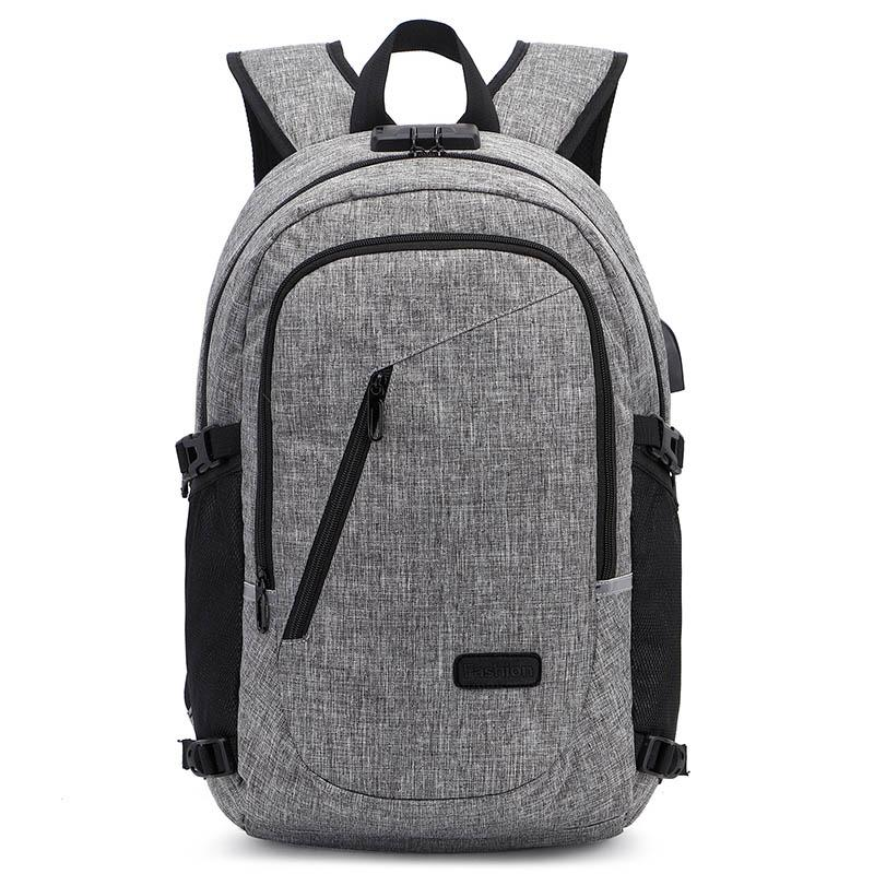 6f04ad58b8 Multifunction 15.6 Inch Laptop Backpack College Bag For Men Women Water  Resistant With Usb Business Backpack Travel Rucksack Camping Backpack  Backpacks From ...