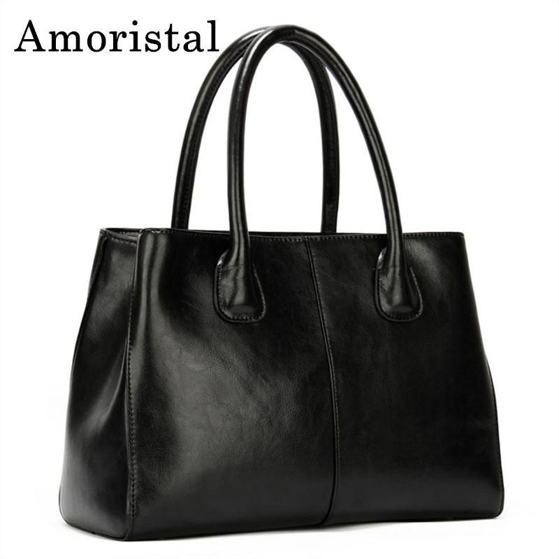 e1cb76ab9f High Quality Shoulder Bags Women Genuine Leather Handbags Business Ladies Messenger  Bag Female Tote Bag 2018 Casual Handbag B323 Branded Handbags Designer ...