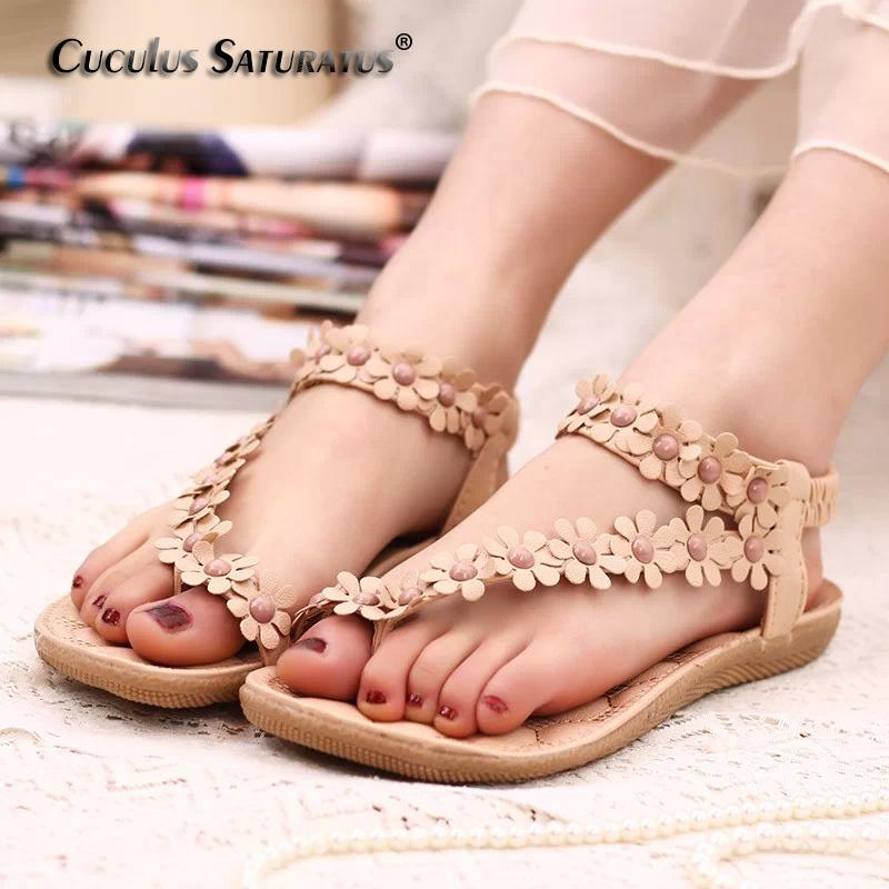 8bd99fb9ffc0 2019 Cuculus 2018 Women Sandals Summer Style Bling Bowtie Fashion Peep Toe  Jelly Shoes Sandal Flat Shoes Woman 01F669 From Lazala