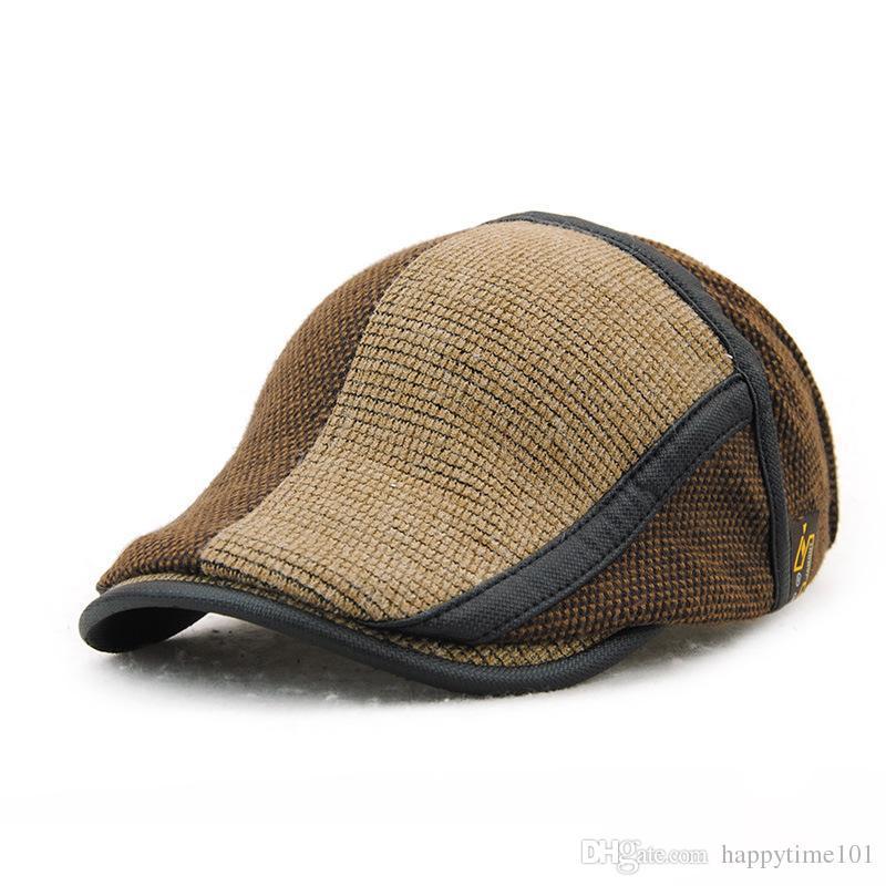 d9a98c552d8 Bulk Winter Warm Cotton Retro Snapbacks Beret Autumn Casquette Baseball Cap  Designer Hats Dad Hat Bucket Fitted Hats Beret Online with  6.92 Piece on  ...